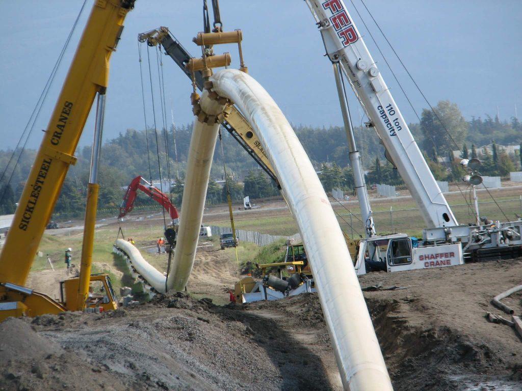 pipeline-crane